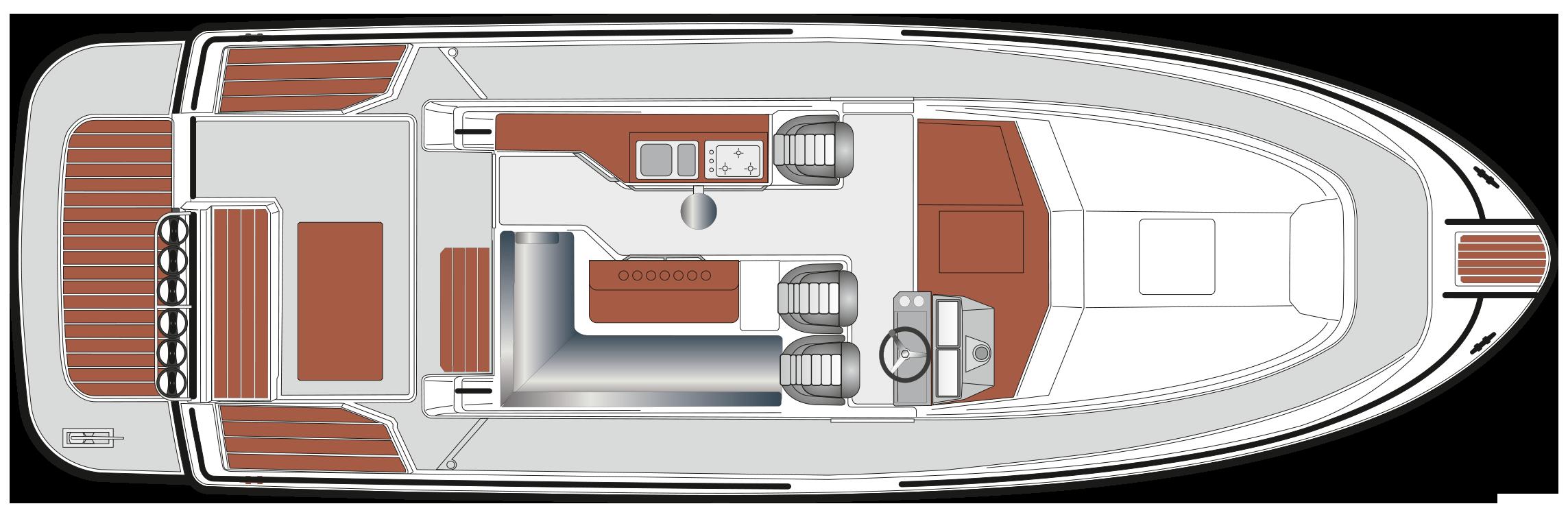 SARGO 36 B upper deck 2021