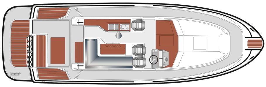 SARGO 36 B upper deck