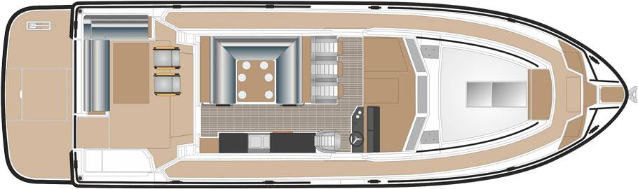 SARGO 45 Upper deck