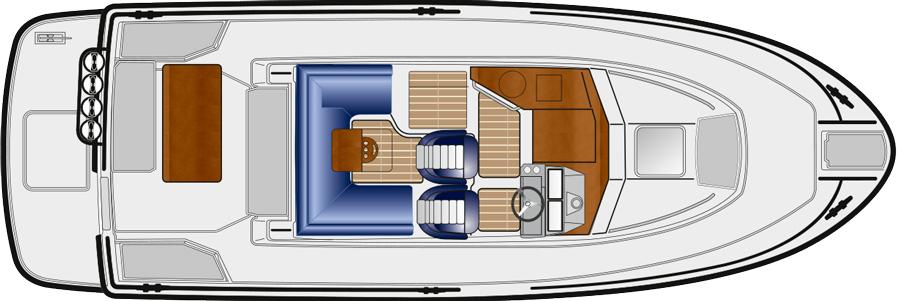 sargo 28 upper deck 2021