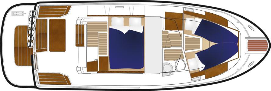 sargo 31 aftdoor lower deck