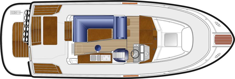 sargo 31 aftdoor upper deck