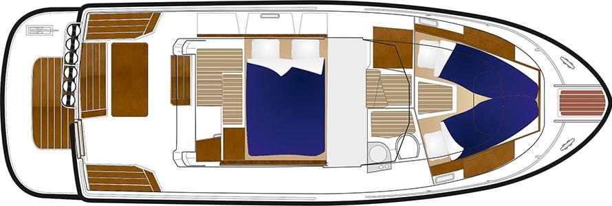 sargo31explorer aft door lower deck